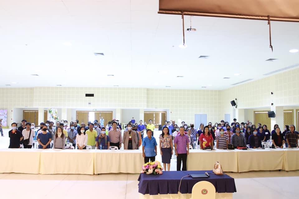 โครงการฝึกอบรมสัมมนาฯ ของคณะผู้บริหาร สมาชิกสภาเทศบาล พนักงานเทศบาล ลูกจ้างประจำ และพนักงานจ้าง ประจำปี 2563